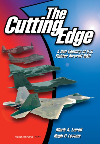 9780833026071: The Cutting Edge: A Half Century of U.S. Fighter Aircraft R&D