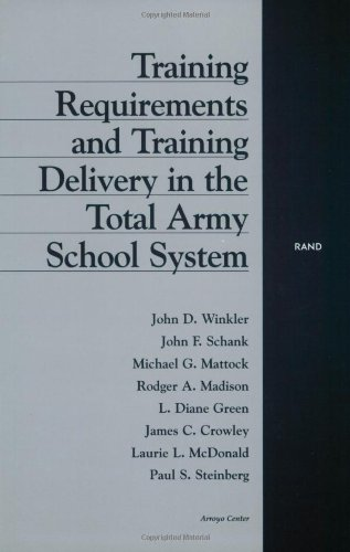 Training Requirements and Training Delivery in the Total Army School System (Paperback): John D. ...