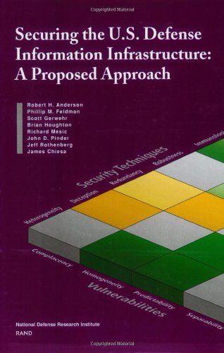 Securing the U.S. Defense Information Infrastructure: A Proposed Approach: Anderson, R. H., Feldman...