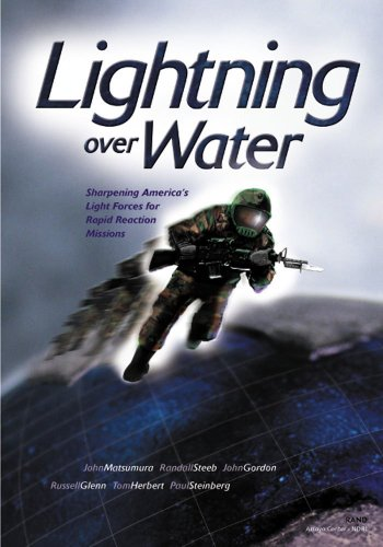 9780833028457: Lightning Over Water: Sharpening America's Light Forces for Rapid Reaction Missions