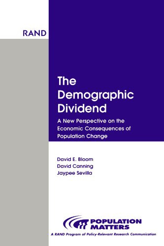 9780833029263: Demographic Dividend: New Perspective on Economic Consequences Population Change (Population Matters)