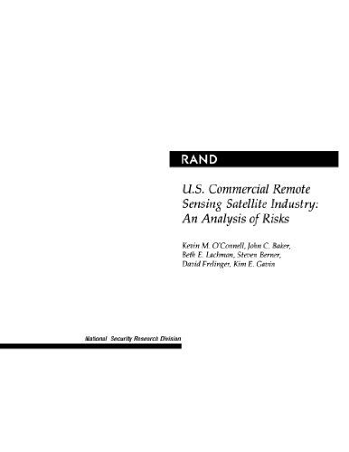 9780833031181: U.S. Commercial Remote Sensing Satellite Industry: An Analysis of Risks