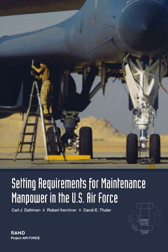 9780833031327: Setting Requirements for Maintenance Manpower in the U.S. Air Force