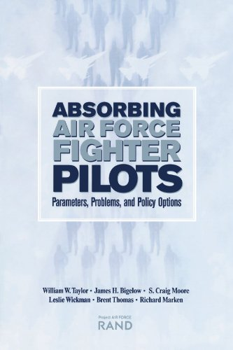 9780833031822: Absorbing Air Force Fighter Pilots: Parameters, Problems, and  Policy Options