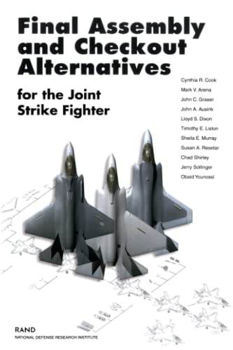 Final Assembly and Checkout Alternatives for the: Cynthia R. Cook;