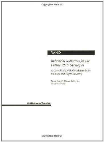 9780833033918: Industrial Materials for the Future R&D Strategies: A Case Study of Boiler Materials for the Pulp and Paper Industry