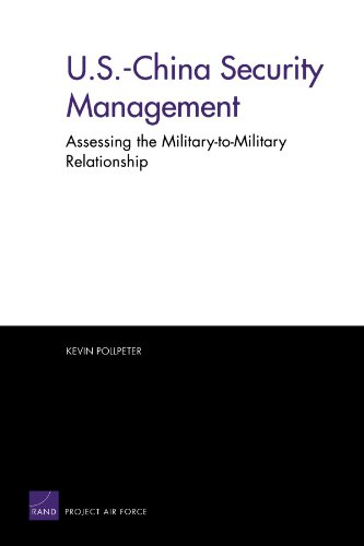 9780833035363: U.S.-China Security Management: Assessing the Military-to-Military Relationship