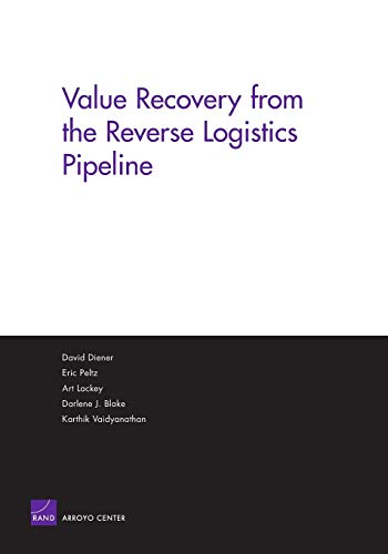 Value Recovery from the Reverse Logistics Pipeline: Corporation, Rand