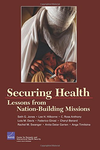 Securing Health: Lessons from Nation Building Missions: RAND Corporation, Anthony,
