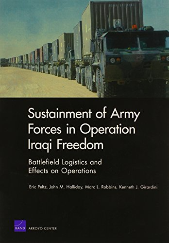 9780833038067: Sustainment of Army Forces in Operation Iraqi Freedom: Battlefield Logistics and Effects on Operations