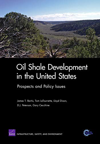 9780833038487: Oil Shale Developement in U S:Prospects & Policy Issues