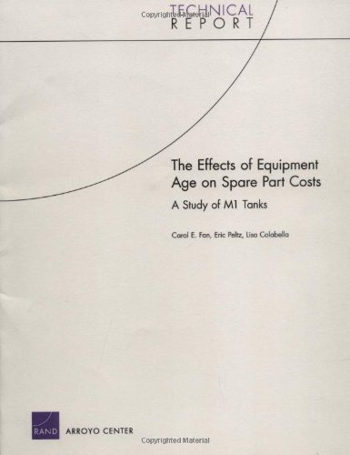 The Effects of Equipment Age on Spare: Carol E. Fan