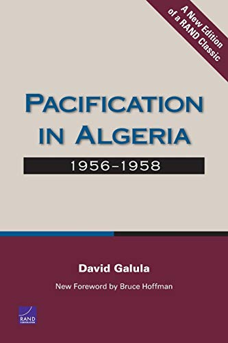 9780833039200: Pacification in Algeria, 1956-1958