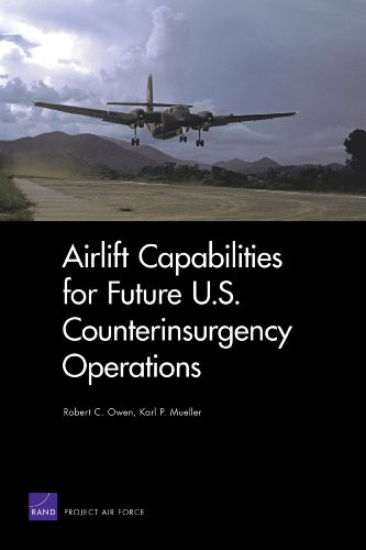 9780833040381: Airlift Capabilities for Future U.S. Counterinsurgency Operations (Rand Corporation Monograph)