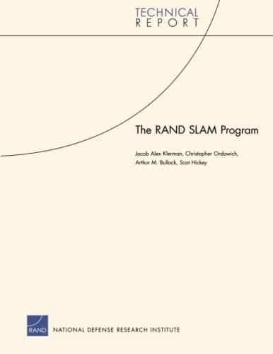 9780833042125: The RAND SLAM Program