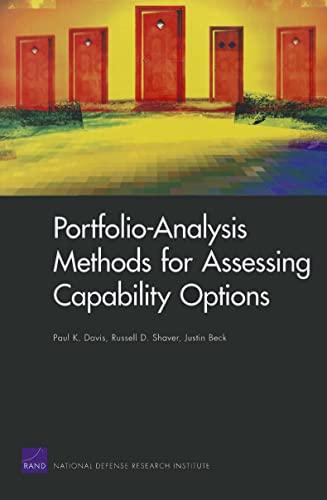 9780833042149: Portfolio-Analysis Methods for Assessing Capability Options