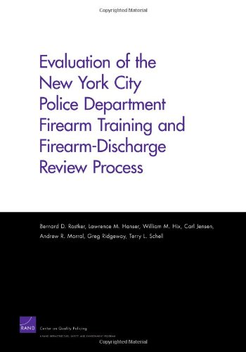 9780833044167: Evaluation of the New York City Police Department Firearm Training and Firearm-Discharge Review Process