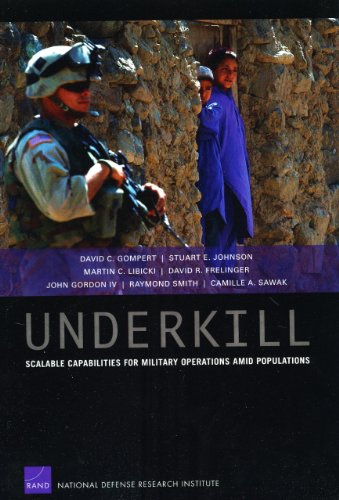 Underkill: Scalable Capabilities for Military Operations amid Populations (0833046845) by David C. Gompert; Stuart E. Johnson; Martin C. Libicki; David R. Frelinger; John Gordon