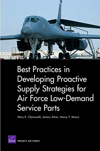 9780833048783: Best Practices in Developing Proactive Supply Strategies for Air Force Low-Demand Service Parts (Rand Corporation Monograph)