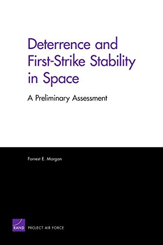 9780833049131: Deterrence and First-Strike Stability in Space: A Preliminary Assessment (Rand Corporation Monograph)