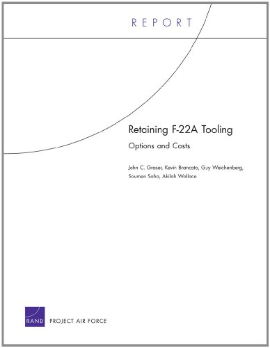 Retaining F-22A Tooling: Options and Costs: Graser, John C.;