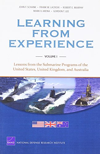 9780833058959: MG-1128/1-Navy Learning from Experience: Vol I: Lessons from the Submarine Programs of the United States, United Kingdom, and Australia (Rand Corporation Monograph)