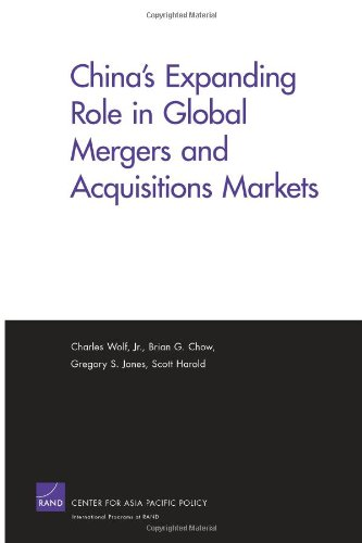 9780833059680: China's Expanding Role in Global Mergers and Acquisitions Markets (Rand Corporation Monograph)