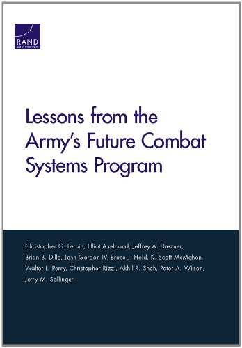 Lessons from the Army's Future Combat Systems: Pernin, Christopher G.;