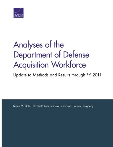 Analyses of the Department of Defense Acquisition: Gates, Susan M.,
