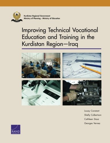 9780833080714: Improving Technical Vocational Education and Training in the Kurdistan Region―Iraq