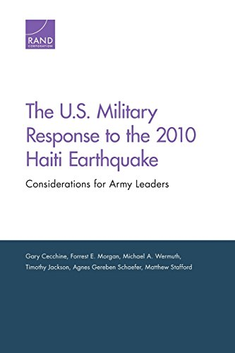 9780833080752: The U.S. Military Response to the 2010 Haiti Earthquake: Considerations for Army Leaders