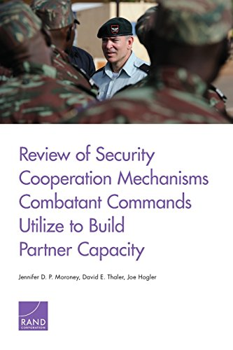 Review of Security Cooperation Mechanisms Combatant Commands Utilize to Build Partner Capacity: ...