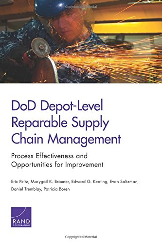 9780833084958: DoD Depot-Level Reparable Supply Chain Management: Process Effectiveness and Opportunities for Improvement