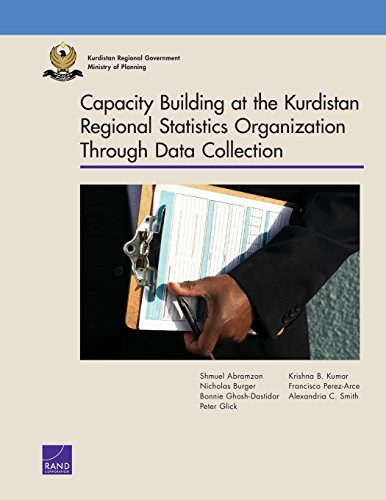 Capacity Building at the Kurdistan Region Statistics: Abramzon, Shmuel, Burger,