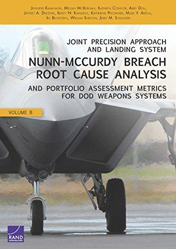 Joint Precision Approach and Landing System Nunn-McCurdy: Kavanagh, Jennifer, McKErnan,
