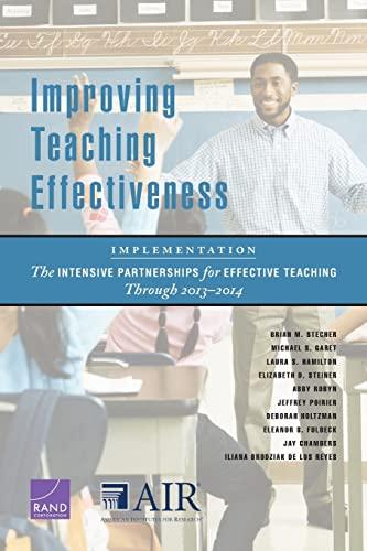 Improving Teaching Effectiveness: Implementation: The Intensive Partnerships: Stecher, Brian M.;