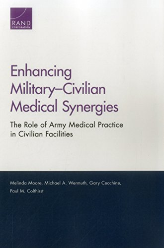 9780833092229: Enhancing Military Civilian Medical Synergies: The Role of Army Medical Practice in Civilian Facilities