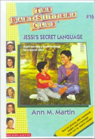 Jessi's Secret Language(By-Ann Matthews Martin)