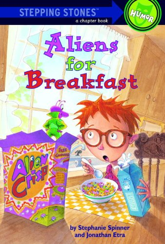 9780833524508: Aliens For Breakfast (Turtleback School & Library Binding Edition) (Stepping Stone Books)