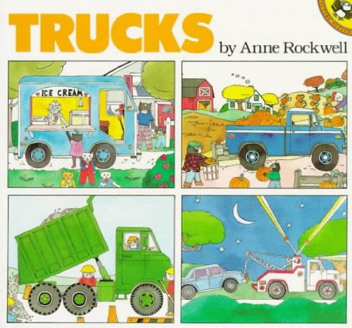 Trucks (Picture Puffins): Rockwell, Anne F.