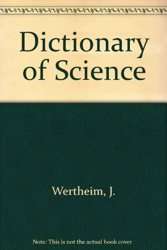 9780833536570: Dictionary of Science