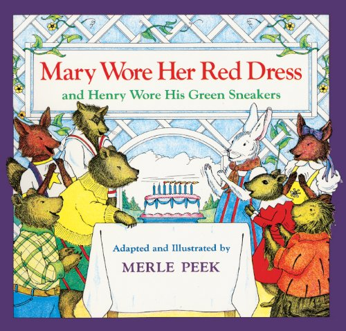 9780833539847: Mary Wore Her Red Dress And Henry Wore His Green Sneakers (Turtleback School & Library Binding Edition)