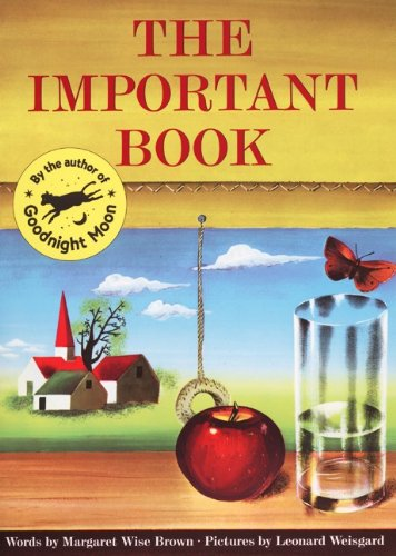 9780833549945: The Important Book (Turtleback School & Library Binding Edition)