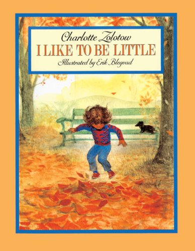 9780833562876: I Like To Be Little (Turtleback School & Library Binding Edition)