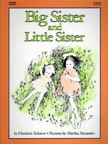 9780833565549: Big Sister And Little Sister (Turtleback School & Library Binding Edition)