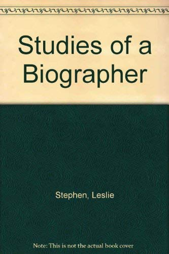 9780833733948: Studies of a Biographer