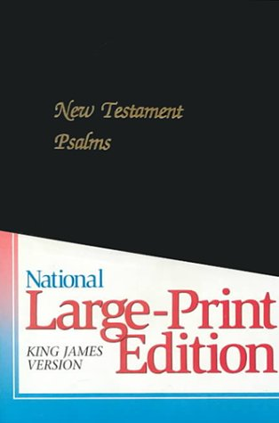 9780834000285: The New Testament With Psalms: KJV Black Imitation Leather/With Amber Edges/Style 68