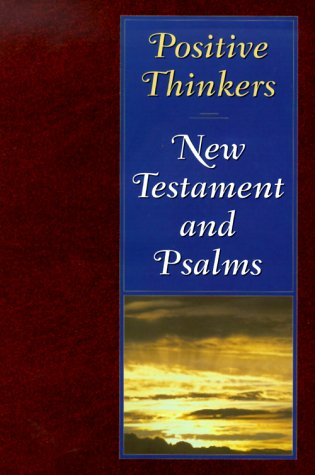 9780834002906: Positive Thinkers New Testament & Psalms: Burgundy/Style 2906