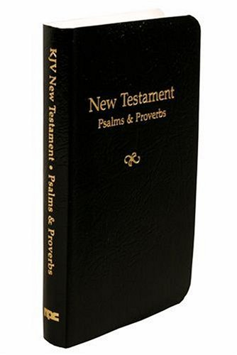 9780834003316: Economy Vest-Pocket New Testament with Psalms and Proverbs: King James Version
