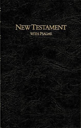 9780834003415: Keystone Large Print New Testament with Psalms: King James Version